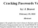 Cracking Password Guida