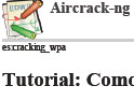 Cracking WPA, Aircrack-ng