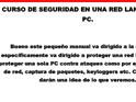 CURSO DE SEGURIDAD EN ...